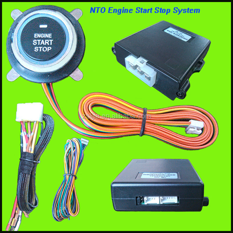 Universal smart keyless car push button start engine