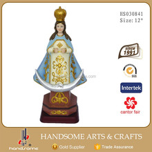 12 Inch Resin Religious Craft Catholic Statues Molds For Sale