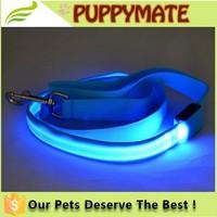 Wholesale Dog Collars and Leash, LED Dog Leash, Nylon Dog Leash