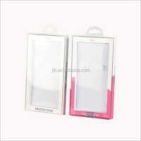 Mobile phone case plastic retail package/cell phone case blister packaging box