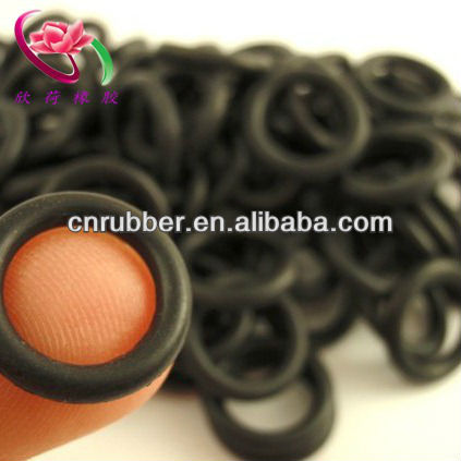 Colored rubber o rings for jewelry
