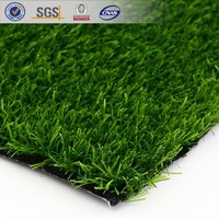 35mm height artificial turf for garden, 3 tones artificial grass for landscaping