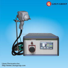 ESD61000-2 esd tester to do electrostatic measurement of TV and Phone according to IEC/EN61000-4-2