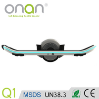 Chinese factory hands free smart balancing one wheel motorcycle