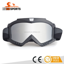 Cool Latest Design Flexible tpu frame HD clear REVO uv protective lens racing motorcycle goggle motocross with filter HB-302