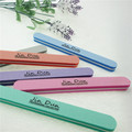 colorful straight thickness sponge nail buffer file