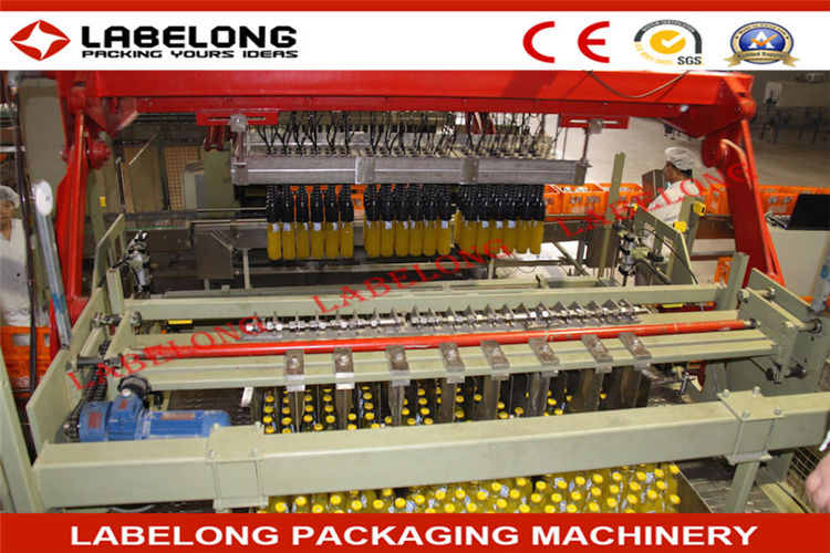 Hot Selling Matte Metallic Brushed hot juice filling machine with CE&ISO