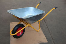 wheelbarrow 65L 5 cu.ft galvanised chassis wheelbarrow