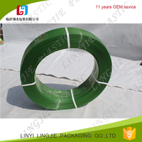 china supplier green PET strap packing belt