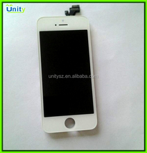 High Quality White LCD Screen Display Touch Digitizer Assembly Fit For iPhone 5