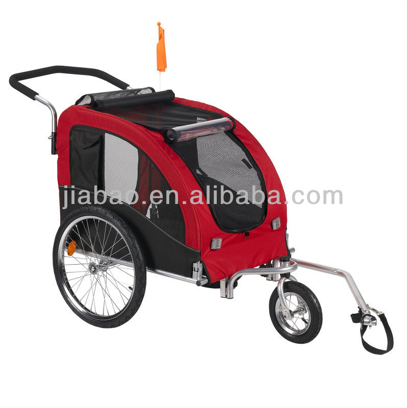 New 2 in 1 Twin Baby Kids Bicycle Bike TRAILER