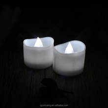 Decorative led tealight flicker flame electric candle for birthday