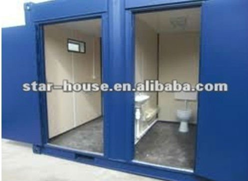 Prefab combined shipping container house for export