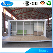 Hot sale flexible New design prefabricated container house for appartements school clini cvilla hospital