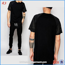 Most Popular Fashion Products Man Clothes Bulk Plain Black T-shirts