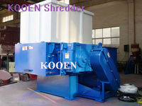 aluminum plastic recycling shredding machine with high capacity