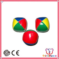 ICTI Factory for kids promotional custom jumping juggling ball