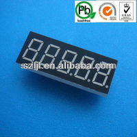 Countdown timer 5 digit/five digit 0.36 inch 7 segment led display