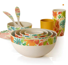 made in china eco bamboo fiber dinner set