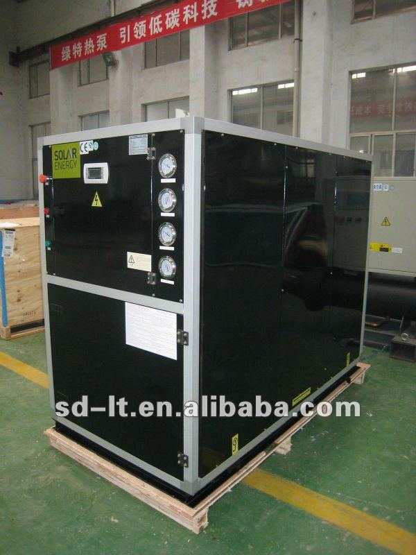 Modular Type Ground Source Heat Pump with Scroll Compressor, Tube in Tube Evaporator and Condenser