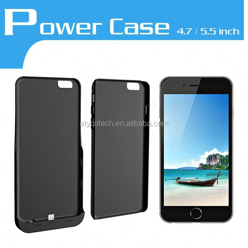For iPHONE6/ 6Plus Backup Battery Charger Case For Samsung Galaxy S4 Mini Thin Batteries