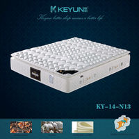 pillow top superlastic spring bed mattress (KY-14-N13)