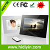 10.1 inch digital photo frame big size multi function photo/picture frame