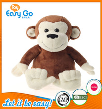 Traditional Red Big Mouth Plush Monkey For Kids