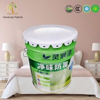 Anti mildew and bacteria washable interior wall paint