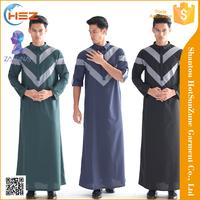 Zakiyyah M002 In Stock Muslim Kaftans For Men Grossist Abaya Dubai Tissue Caftan