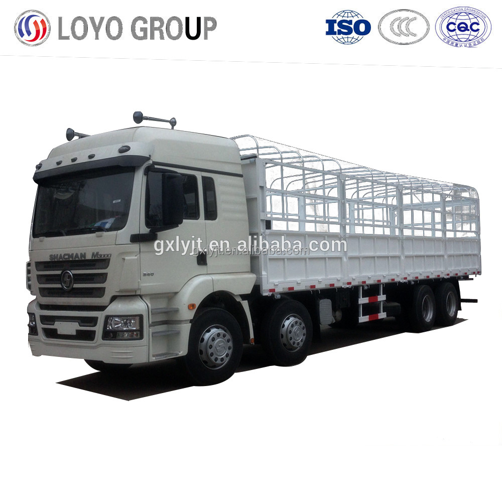 Sales Promotion Shacman M3000 8X4 Stake Lorry Truck