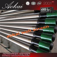 wholesale pipe base screen D159 threaded connection sand control screen tube