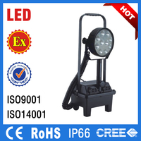 rechargeable led work light waterproof new led car work light hazardous locations light