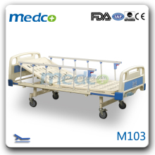 health care single manual medical bed furniture nursing hospital bed for sale M103