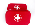 Wholesale Red Small Empty Military First Aid Kit Case