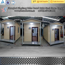 low cost portable prefab small cabin house/prefabricated houses for accommodation