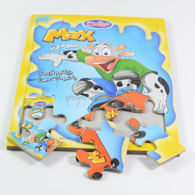 Wholesale custom cardboard jigsaw Puzzle for kids