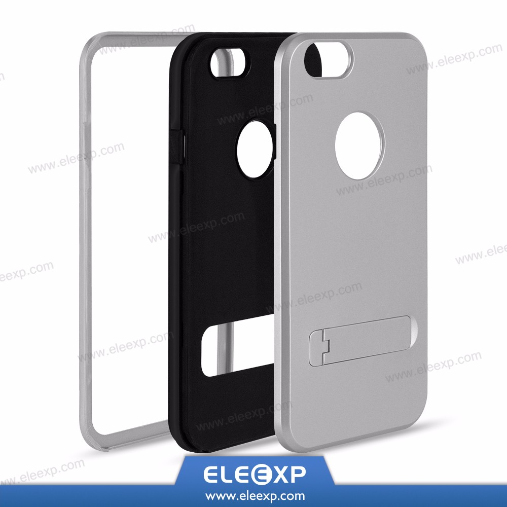 Hot sale protective hybrid Holder Back Skin for iPhone 7 Plus , for iphone 7 case with kickstand