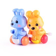Cheap stock Item plastic Wind Up toys rabbit for promotion
