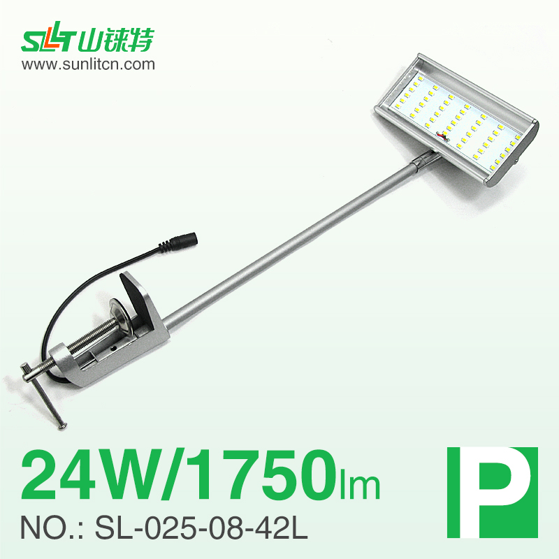 Manufacturer 7.5W DC12V jewelry display case lighting LED long arm light for trade show