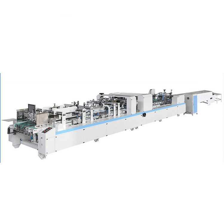 ZH-1450PC-II Automatic Packaging Carton Box Making Machine For 4 6 Corner