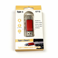 4GB 8GB 16GB 32GB 64GB Multifunction Type-c Otg 3.0 Usb Flash Drive with TF SD Card Reader