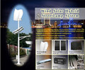 200w mini Vertical wind solar hybrid system for Street Lamp Use off grid