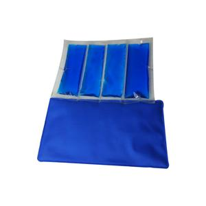 Premium flexible reusable non toxic ice gel pack for cooler and cold compress therapy wrap