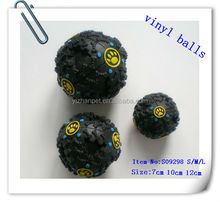 hot sale colorful dog PVC balls special sound ball color magnetic balls