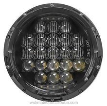 105W 7 inch Round LED Headlight Projector Daymarker Headlight For Jeep JK Wrangler Harley Davidsion White DRL