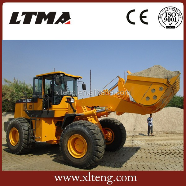 front end loader 5 ton whell loader similar to XCMG zl50g