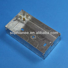Wholesale Metal Double Gang Power Outlet Box