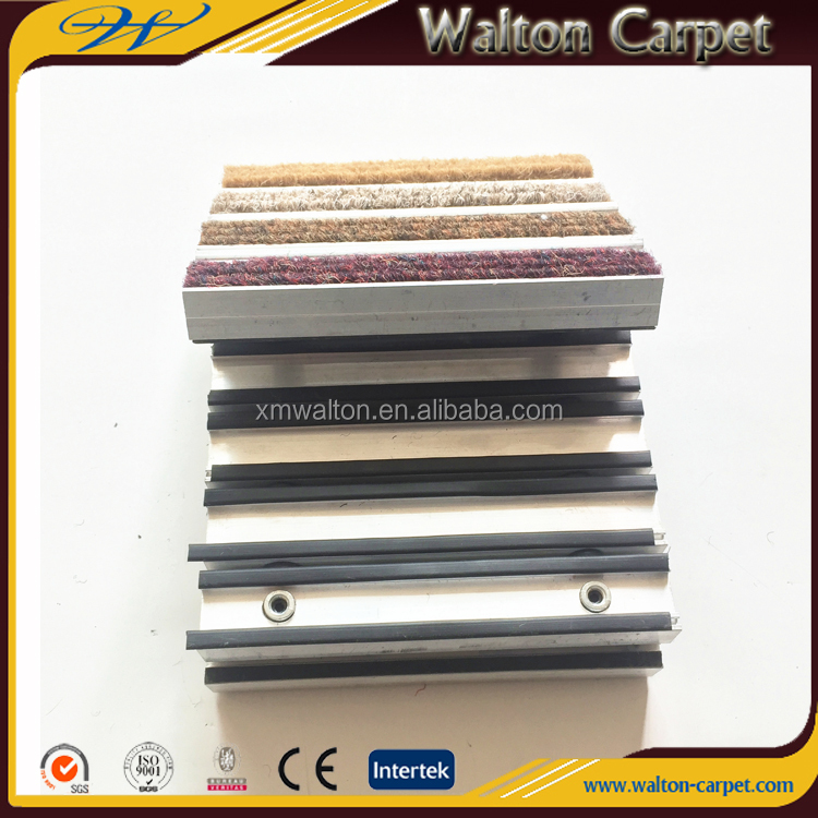 1.5CM thickness heavy duty nonwoven pile aluminum entrance mat