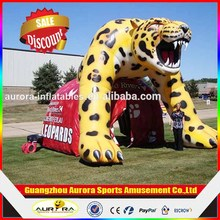 Fantastic Best Seller Outdoor Playing Most Amazing Inflatable Animal Tunnel For Sale